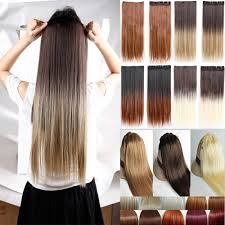 Hair Extension Tips by Aliexpress Com Buy Natural Straight Hair Clip In On Hair