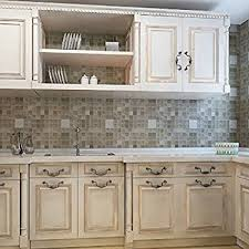 wall tile for kitchen backsplash tin peel stick raised floral pattern backsplash