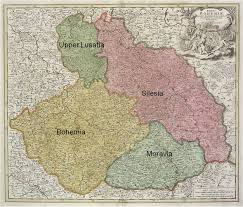 bohemia map germans from russia heritage collection