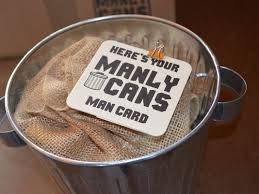 manly gift baskets the gift basket for men comes in the form of a can