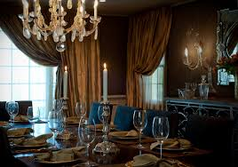 elegant dining room dining room a mysterious and elegant dining room setd for a gloomy