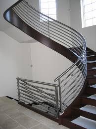 furniture metal stair railings interior in the house wood stair