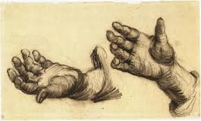master artists u0027 sketches of hands u2014 drawing on the right side of