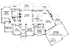 European Floor Plans European House Plans Macon 30 229 Associated Designs