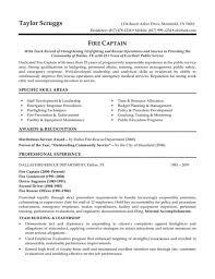 Firefighter Resume Police Officer Resume Template Criminal Justice Resume Format