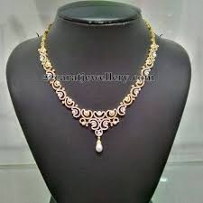 simple diamond sets 2 to 3 lakhs diamond sets jewellery designs