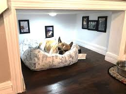florida man builds tiny bedroom for his dog under the stairs abc