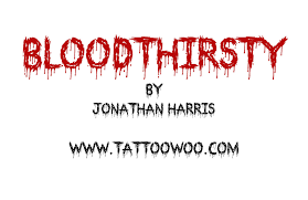 bloodthirsty free font download all free font