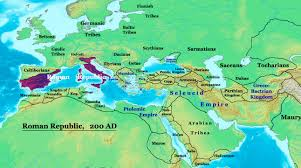 Roman World Map by File Roman Empire 200bc Sm Jpg Wikipedia