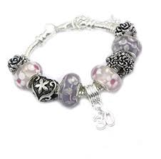 Birthday Charm Bracelet 30th Birthday Charm Bracelet Women U0027s Amazon Co Uk Jewellery