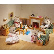 sylvanian families country living room set toys r us australia
