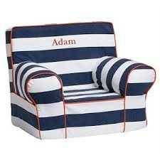 Pottery Barn Kids Everyday Chair Pottery Barn Kids Hybrid Rugby Stripe Anywhere Chair Nautical