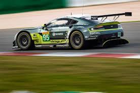 lexus v8 drag car first laps aston martin racing v8 vantage gte automobile magazine