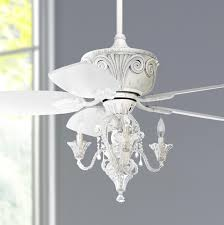 Light Fans Ceiling Fixtures 44 Casa Antique White Ceiling Fan With Light White