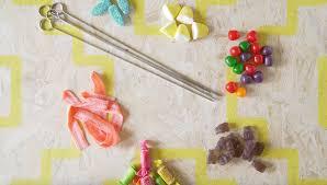 rainbow candy skewers recipe