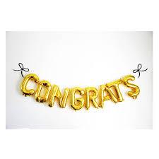 Congratulations Engagement Banner Congratulations Wedding Congrats Balloon Banner
