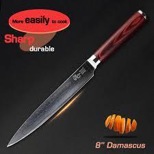 couteau de cuisine japonais haoye 8 pouce cleaver couteaux 73 couches damas couteau de cuisine