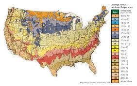 Garden Growing Zones - hardiness map u0026 planting zones advanced tree technology