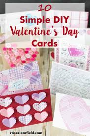 holidays diy valentines day 10 simple diy s day cards simple diy cards and holidays