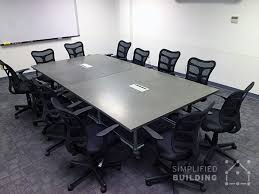Board Meeting Table 5 Modern Conference Table Ideas Simplified Building