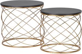 round metal side table metal side tables amazing pair of round with spiral for 6