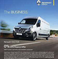 renault vans 0 apr renault van offer commercial vans renault dublin