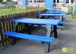 recycled plastic picnic tables