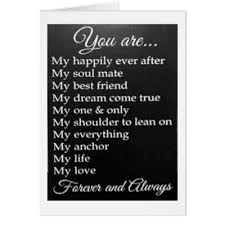 5x7 Love Anchors The Soul - happy anniversary to a special couple card zazzle com