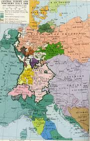 Map Of Central Europe 1806 Central Europe And Northern Italy Map Europe Interesting