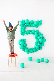 oversize balloons balloon number diy