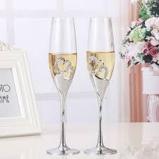 Marriage Decoration Aliexpress Com Buy 2 Pcs Set Crystal Wedding Toasting