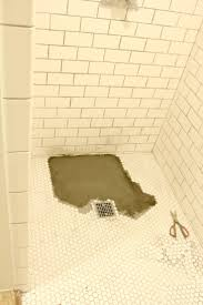 How To Tile A Bathroom Shower Floor If At You Don T Succeed A Shower Floor Tale The Grit And