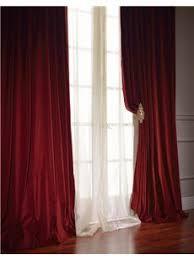 Burgundy Velvet Curtains Wine Velvet Custom Made Curtains All Size By Tailor2u On Etsy