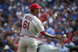 cardinals braced for the worst after reyes u0027 elbow flares up st