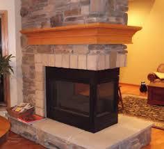 cedar fireplace mantel binhminh decoration