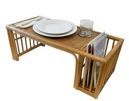 rattan bed tray