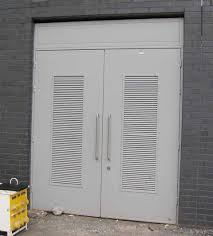 fire resistant glass doors steel swing hinged doors acoustic soundproof fire rated