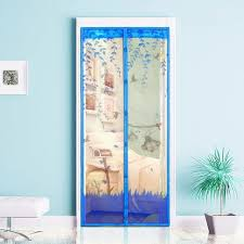 Magnetic Curtains For Doors Magnetic Mesh Screen Door Mosquito Net Curtain Four Colors 90