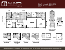 schult integrity 6828 328 excelsior homes west inc modular