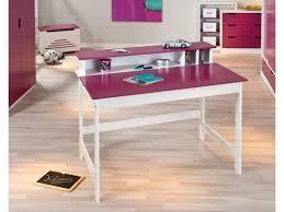 bureau pour enfant bureau pour enfant design blanc et avec plateau relevable tara