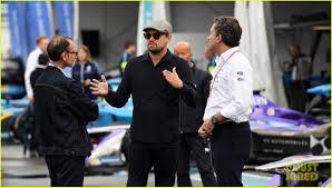 Just Garages Leonardo Dicaprio Tours The Garages Before Formula E U0027s Eprix