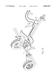 patent us6000207 disassemblable hay rake google patents