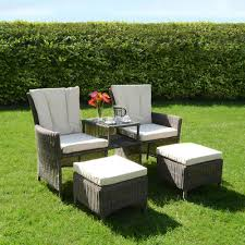 Garden Loveseat Simple Garden Furniture Love Seat Black Intended Ideas