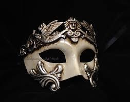 Halloween Masquerade Party Ideas Mens Masquerade Mask For Men Roman By Masquerademaskstudio On Etsy