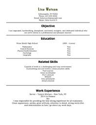 resume exles for restaurant sle restaurant resumes resume sle waiter