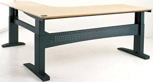 l shaped standing desk conset 501 27 l shaped standing desk electric adjustable stand