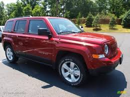 red jeep deep cherry red crystal pearl 2012 jeep patriot sport 4x4 exterior