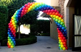 balloon arch balloon arch lit party rentals