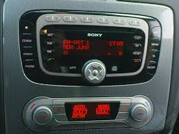 2008 mondeo mk4 titanium sony radio in car entertainment mk4