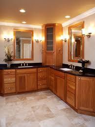 Corner Bathroom Cabinet Stylish Lovely Corner Bathroom Vanity Cabinets On Best References